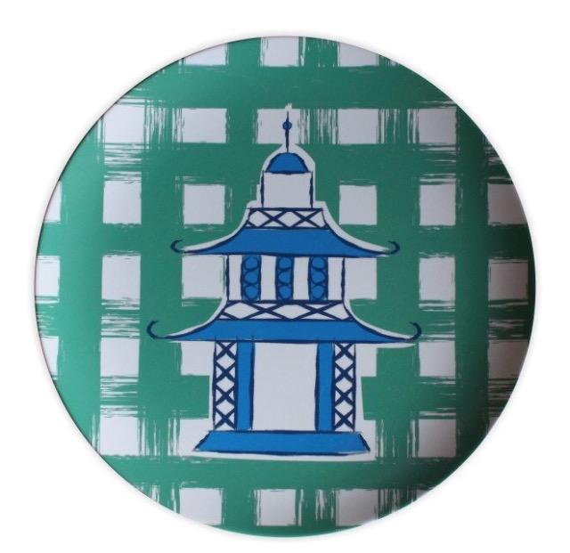 Pagoda Plate Set