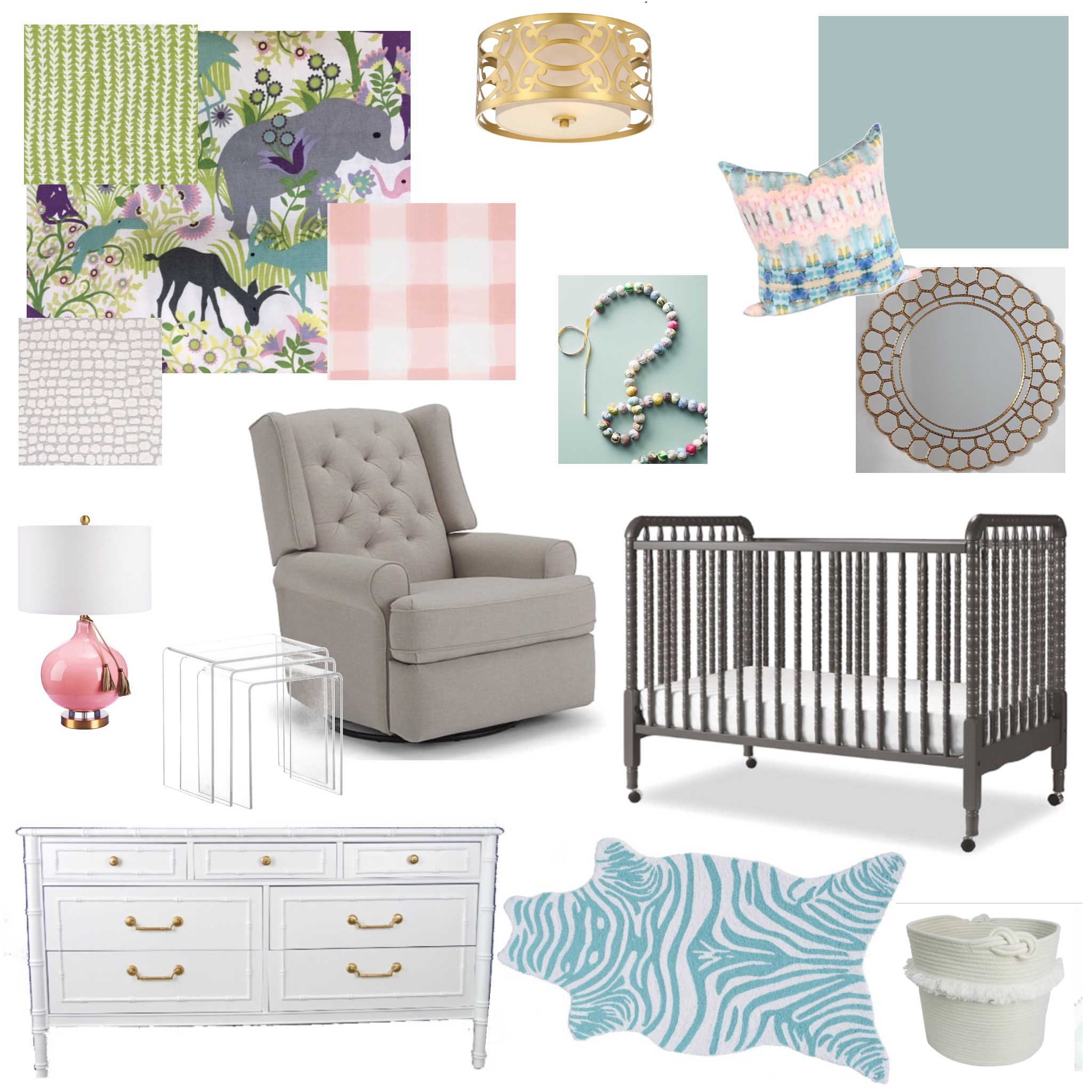 Version 2: Girl Nursery