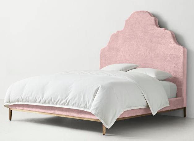 RHTeen Velvet Bed