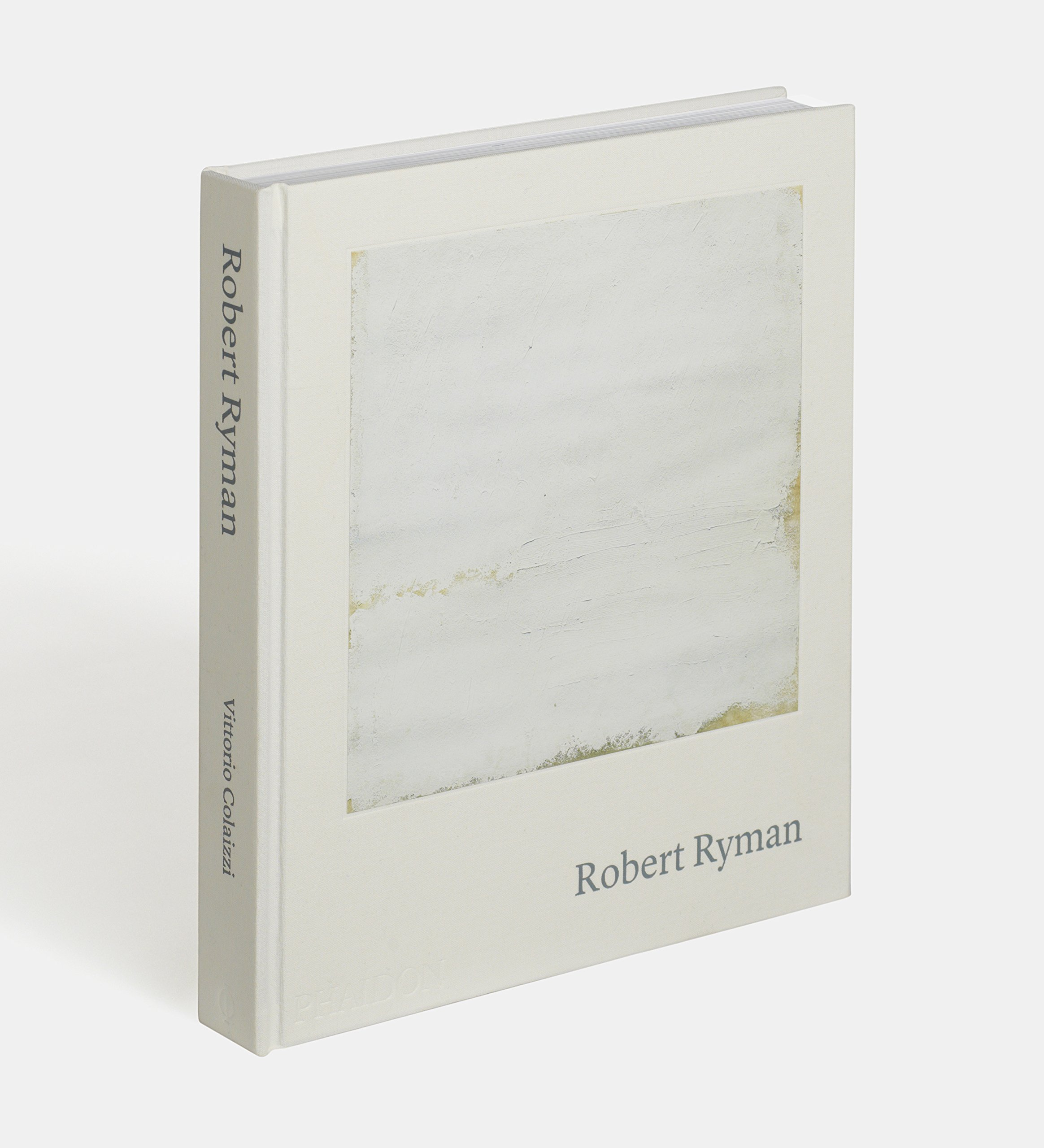 CURRENT Books exhibitor Vittorio Colaizzi will be tabling with his  monograph on Robert Ryman , pictured here.