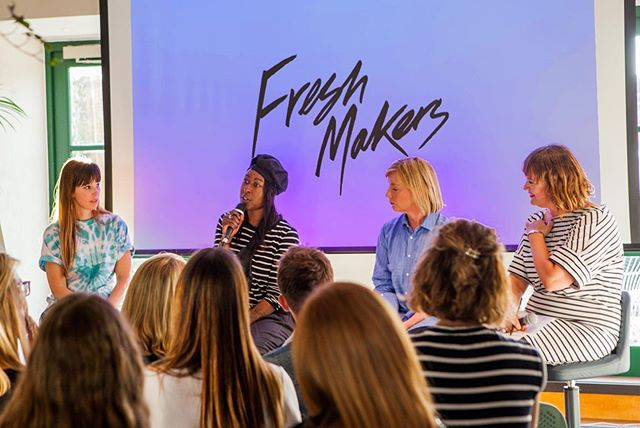 "Last week, Freshmakers hosted a powerful talk at the newly opened Allbright Mayfair in London. Titled ""Women in sneakers, breaking the mould"", the panel, hosted by Sophie Jackson, asked hard questions and provided honest stories as well as positive tips for women and men from inside and outside the footwear industry. ⠀⠀⠀⠀⠀⠀⠀⠀⠀ ⠀⠀⠀⠀⠀⠀⠀⠀⠀ Featured panelists were Rachel Alsbury, industry veteran and former creative director of Puma, Natasha Jackson, freelance designer who started her prominent career at Church's and Solene Roure, leading footwear designer (Nike, Louis Vuitton, Golden Goose...) and partner of Primury footwear. ⠀⠀⠀⠀⠀⠀⠀⠀⠀ ⠀⠀⠀⠀⠀⠀⠀⠀⠀ Stay tuned for news of more of our talks, featuring more Freshmakers ! ⠀⠀⠀⠀⠀⠀⠀⠀⠀ ⠀⠀⠀⠀⠀⠀⠀⠀⠀ Photo by @ro_murphy⠀⠀⠀⠀⠀⠀⠀⠀⠀ ⠀⠀⠀⠀⠀⠀⠀⠀⠀ ⠀⠀⠀⠀⠀⠀⠀⠀⠀ FRESHMAKERS is a platform promoting positive change for the makers in the creative industries. Launched by designer Solene Roure and writer Sophie Jackson, FRESHMAKERS profiles, inspires and supports talented individuals who are behind the scenes developing ideas, concepts and products. Follow us on instragam @freshmakers__  #wearefreshmakers #allbright #sneakersdesign #designleaders #sneakers #hypebeast #businessofhype"