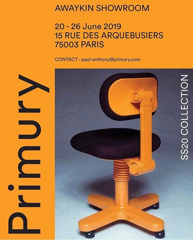 New Primury collection showing in Paris from Thursday !  If you wish to buy (wholesale) or come say hi 👋, let me know !