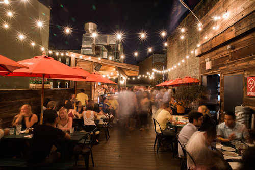 11 Best Patios in NYC    Village Voice