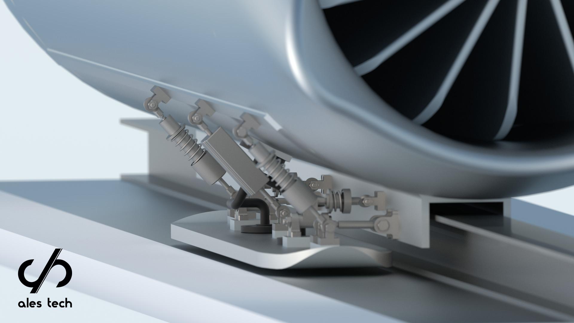 Ales Tech active suspension system - a preliminary concept