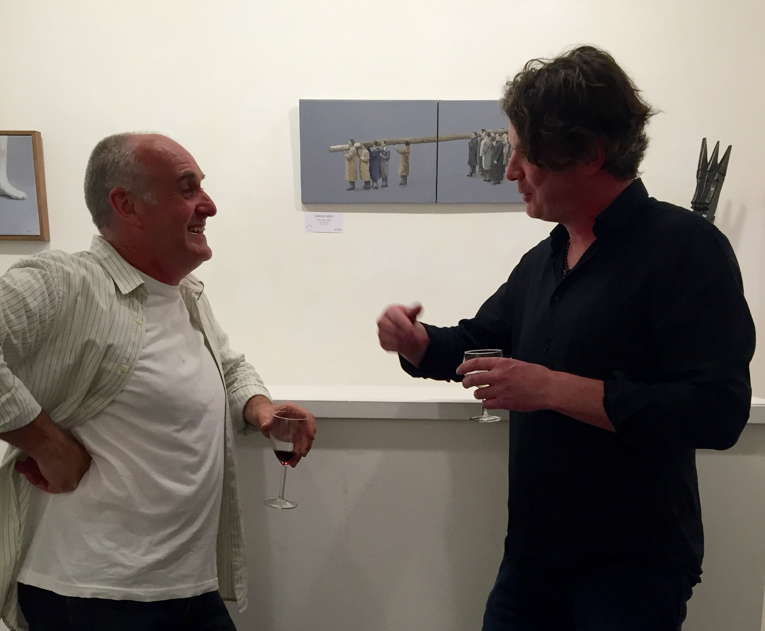 Diarmuid Breen catches up with fellow artist Donagh Carey.