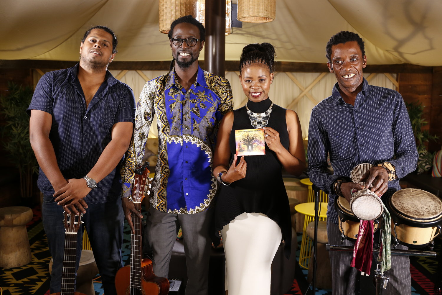 "There's nothing better than Good Vibes. Thank you to Lamine Sonko and the African Intelligence for an Amazing musical performance.  Be sure to get your copy of their new album ""Afro Empire"". For more info, visit  The African Intelligence"