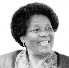 Mama Albertina Sisulu, Ms Beryl Sisulu's mother.
