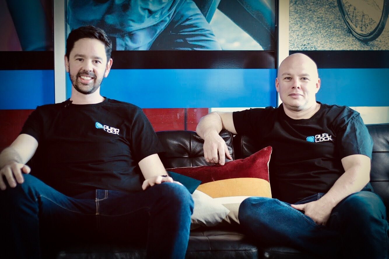 Rob Ward & Chris Peters, Co-Founders of QuadLock