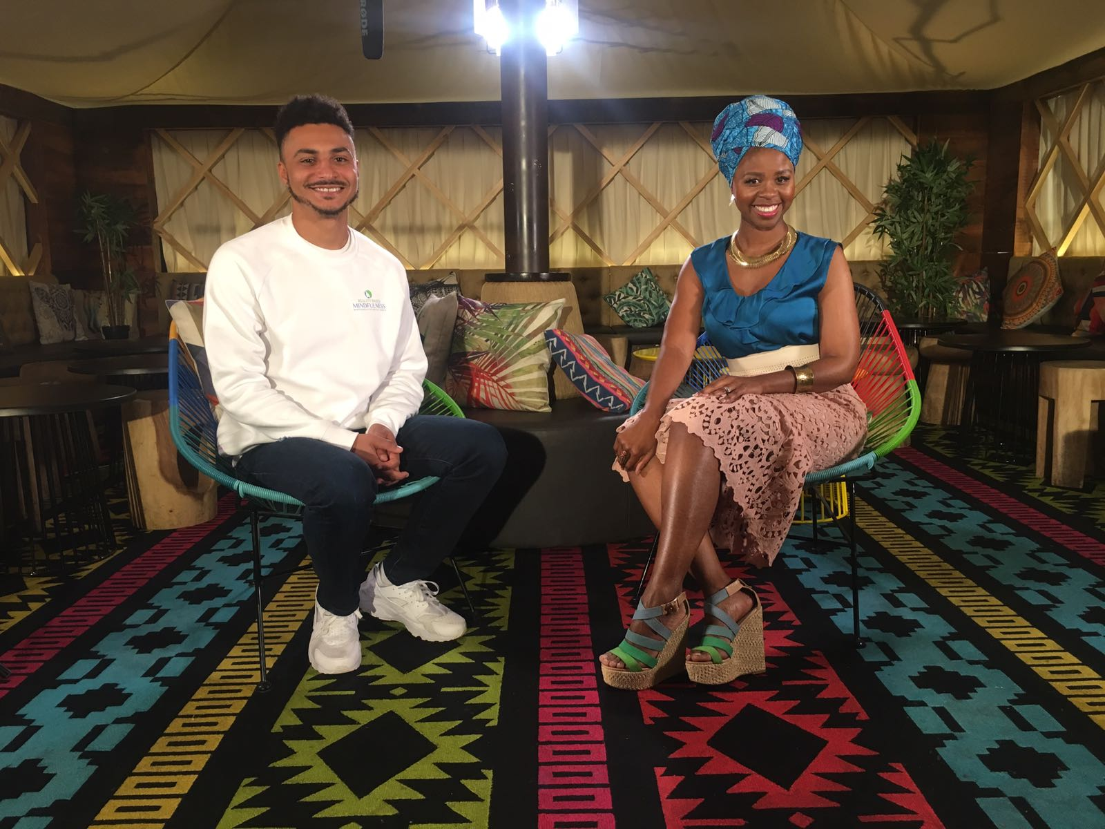 Watch our interview with Coco Nkrumah