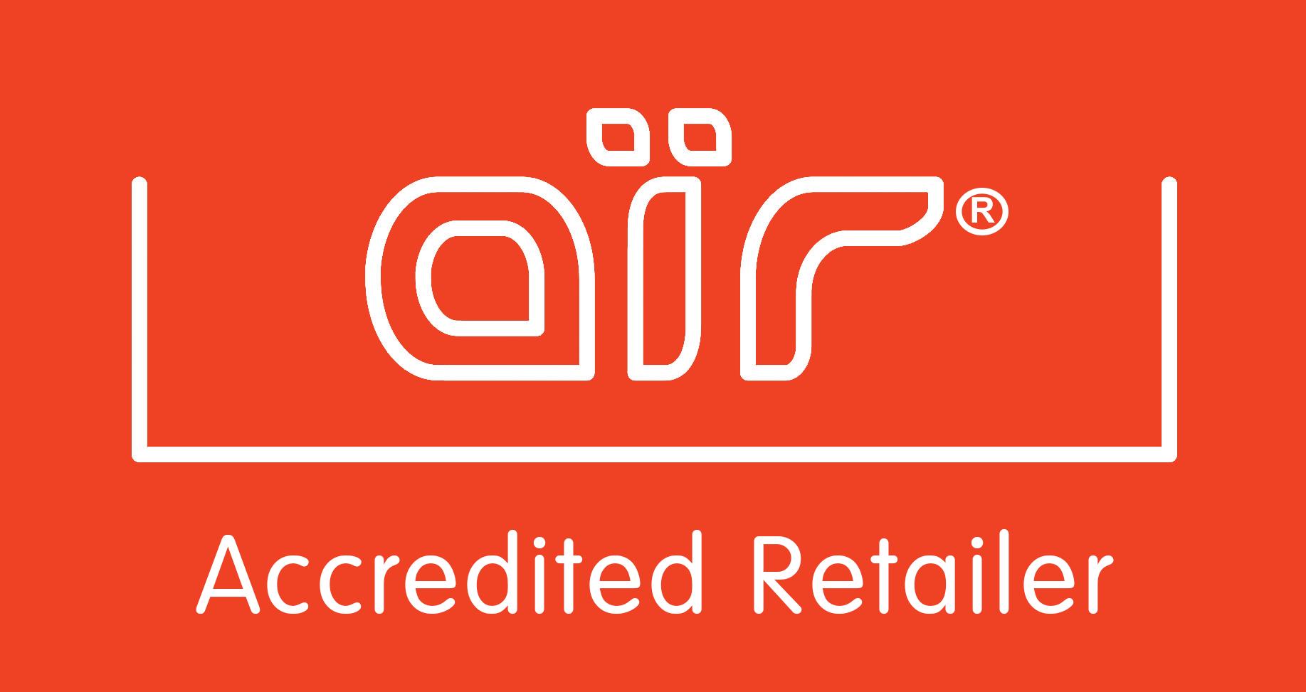 air Accredited Retailer logo
