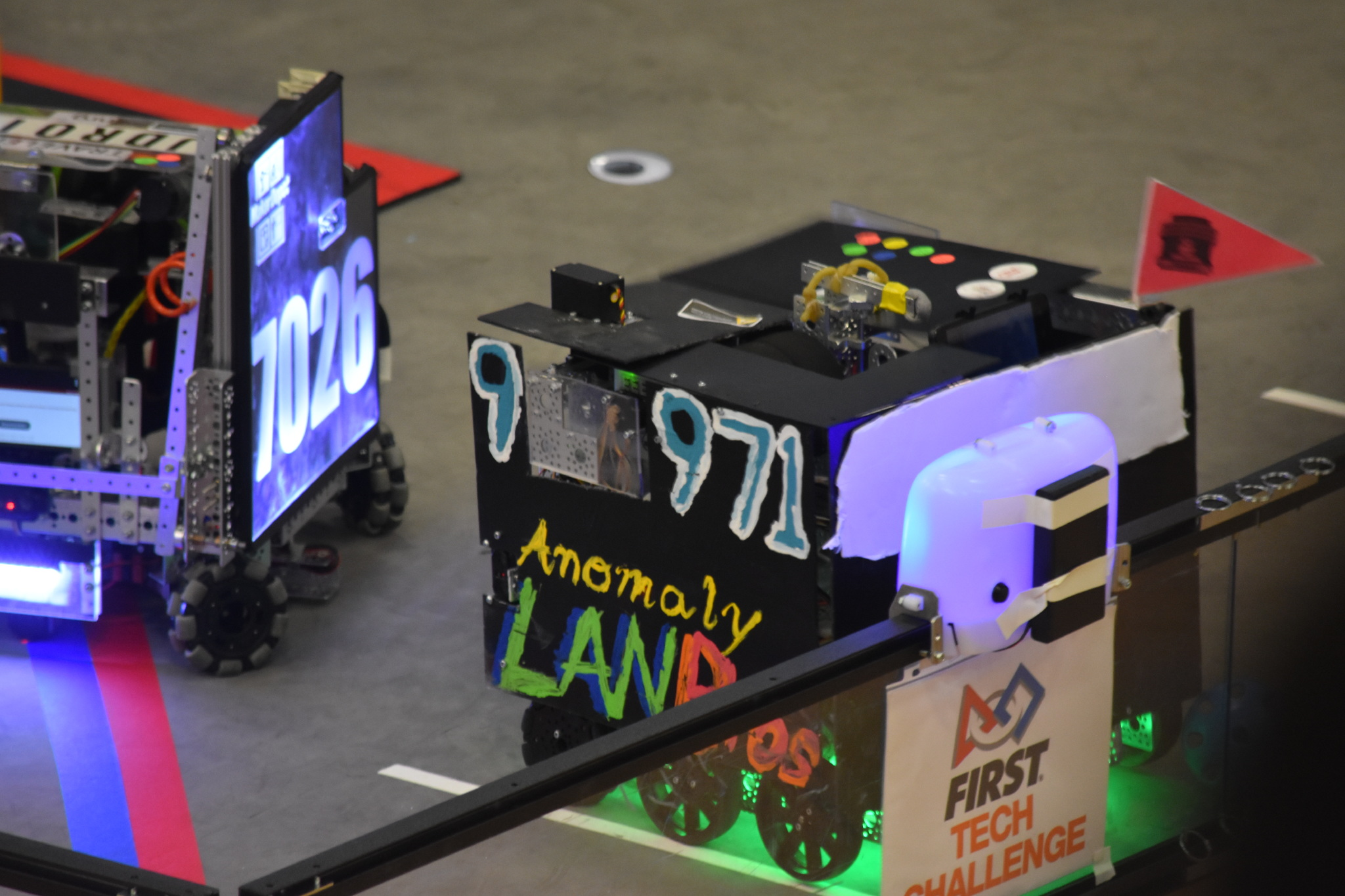 Anomaly claiming a beacon at the East Super Regional