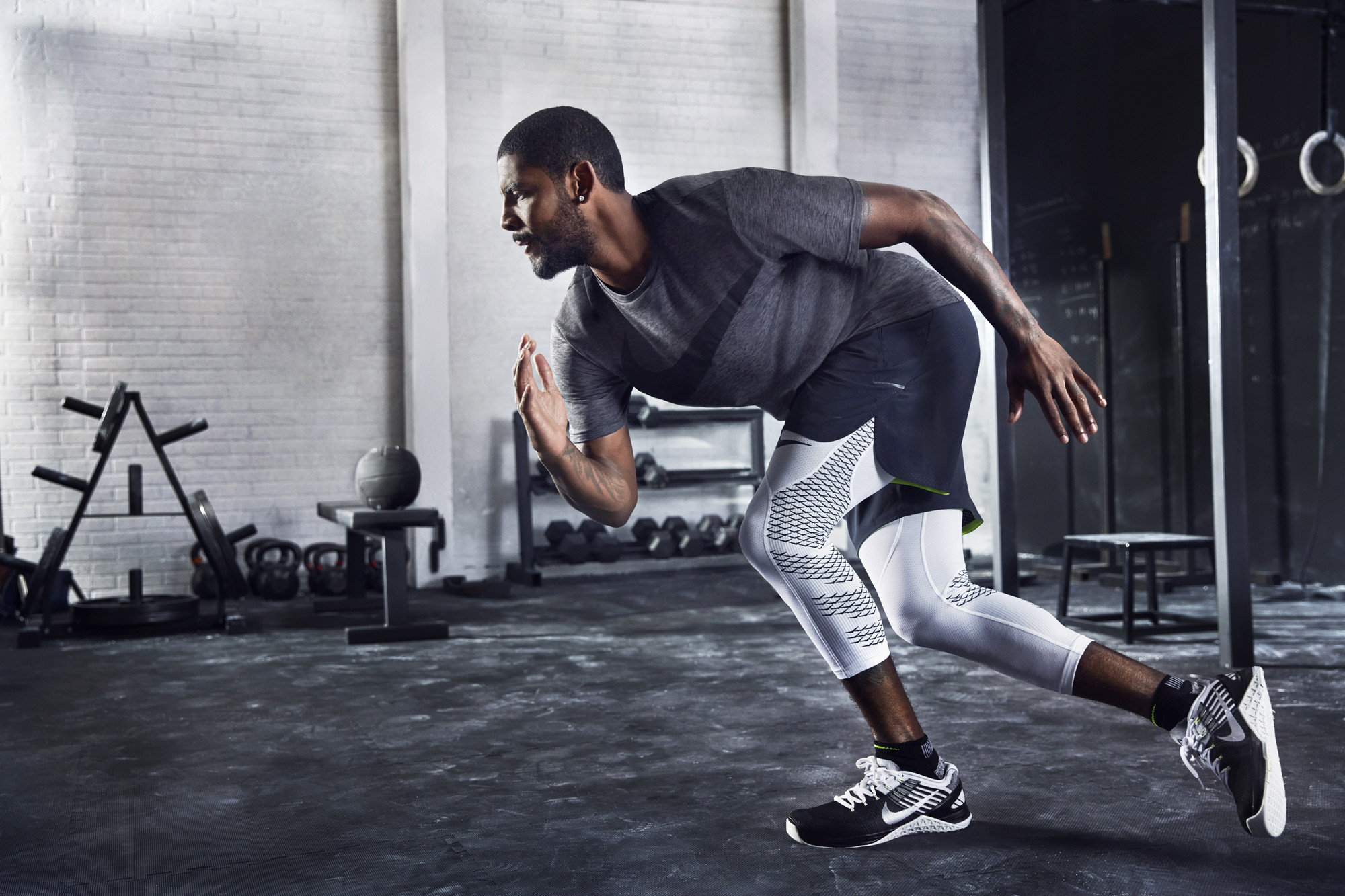 Kyrie Irving in the Nike Metcon DSX Flyknit