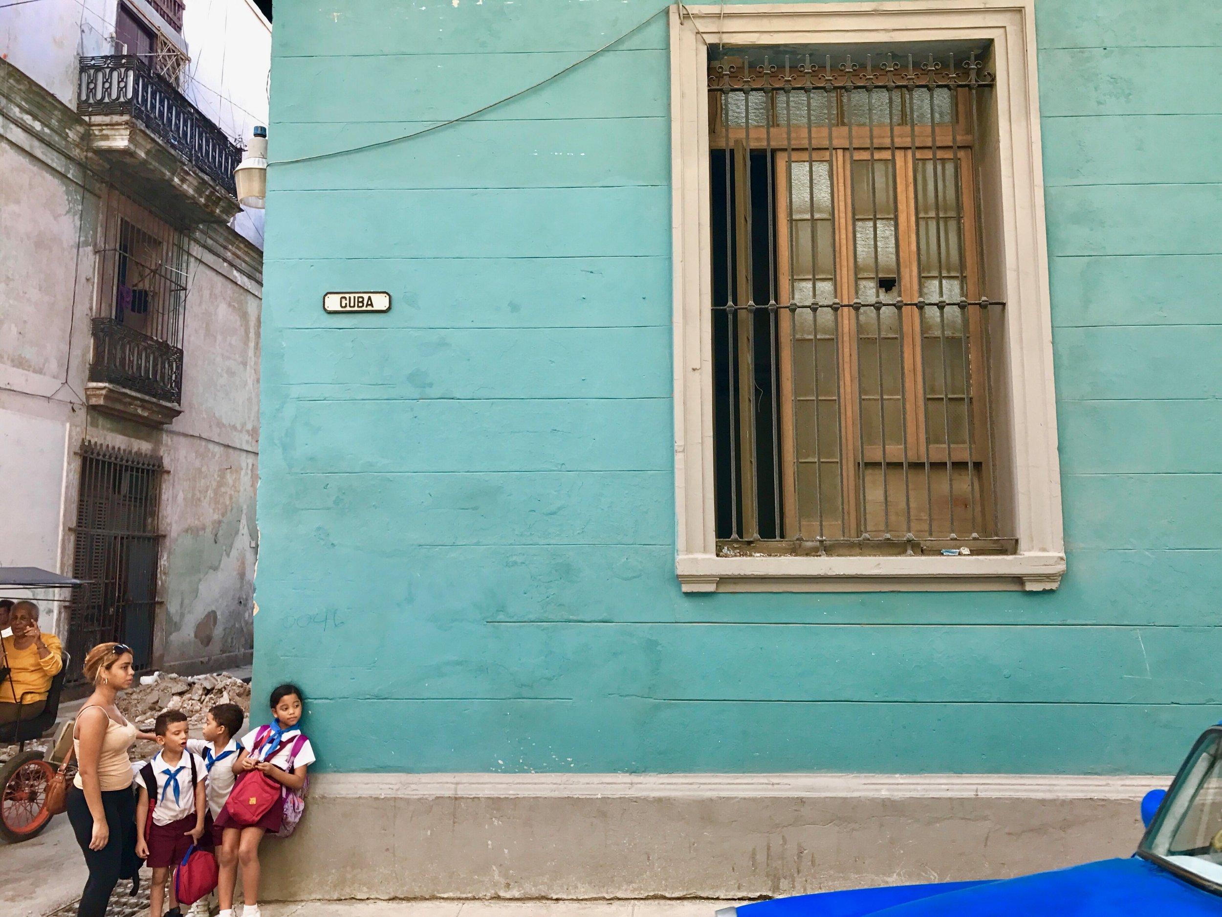Kids Headed to School - Cuba - Photo by Jason Jackson