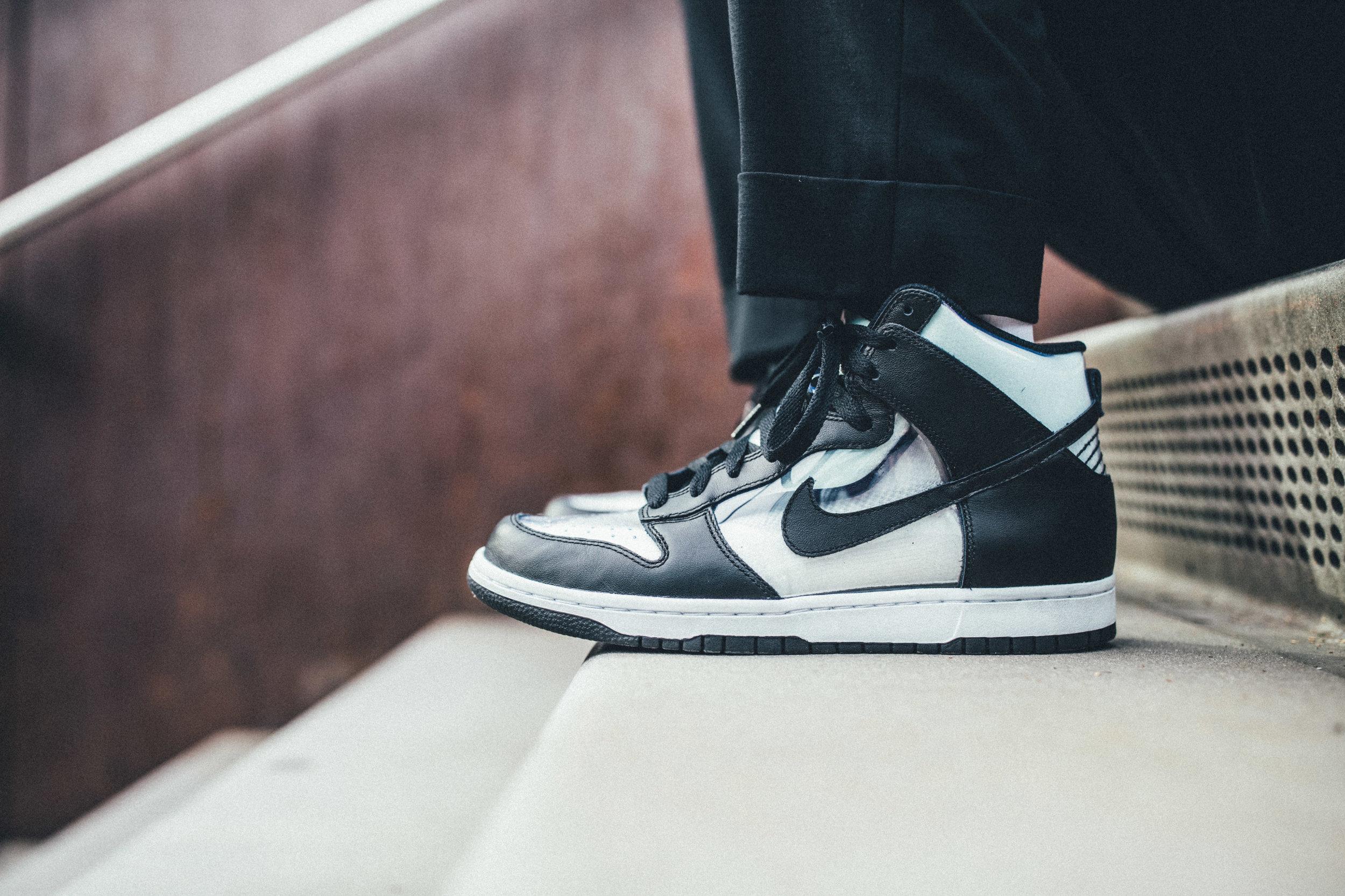 NikeLab Dunk Hi x COMME des GARCONS