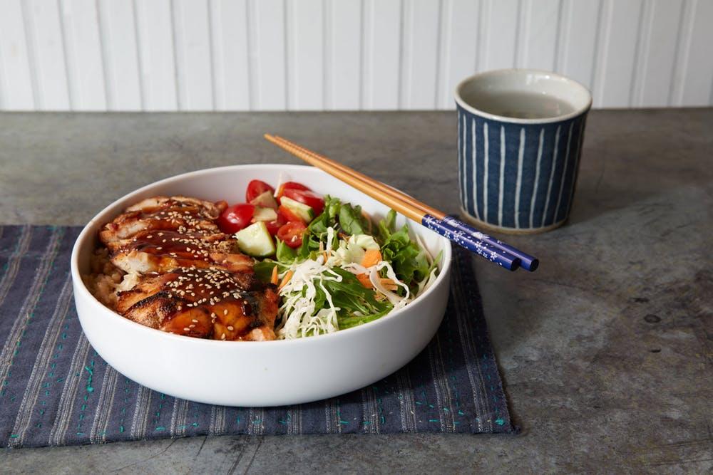 Chicken Teriyaki Bowl   Glaze Teriyaki