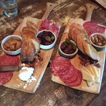 Cheese platters at Red or White