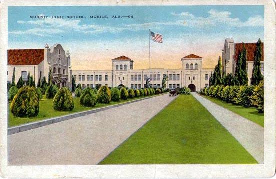 Murphy High School post card