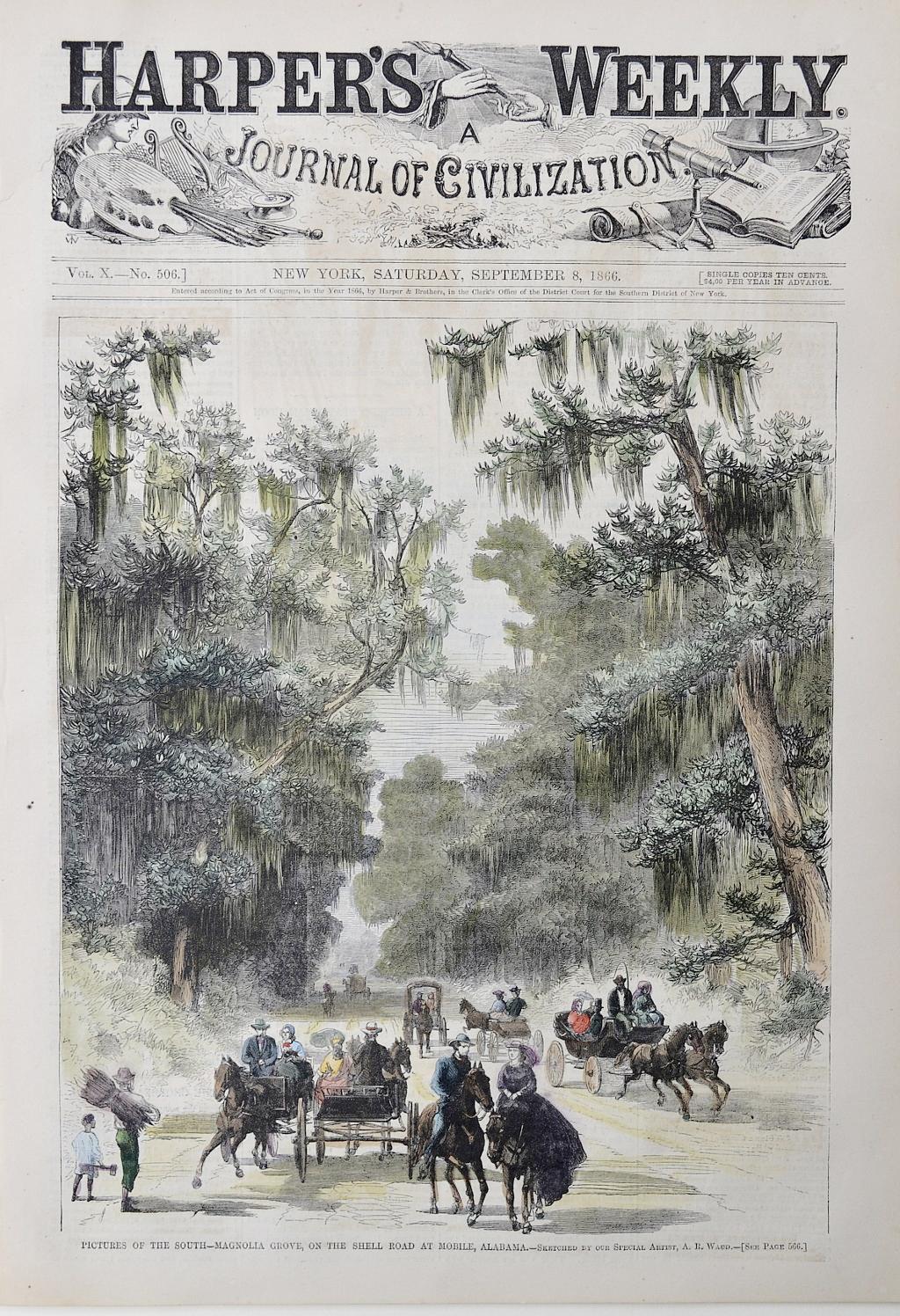 Harper's Weekly, Saturday September 8, 1866