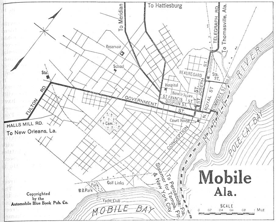 Mobile in 1919