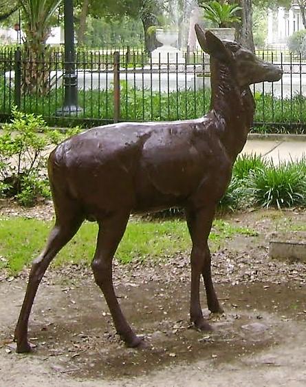 Iron Deer   source: Library of Congress