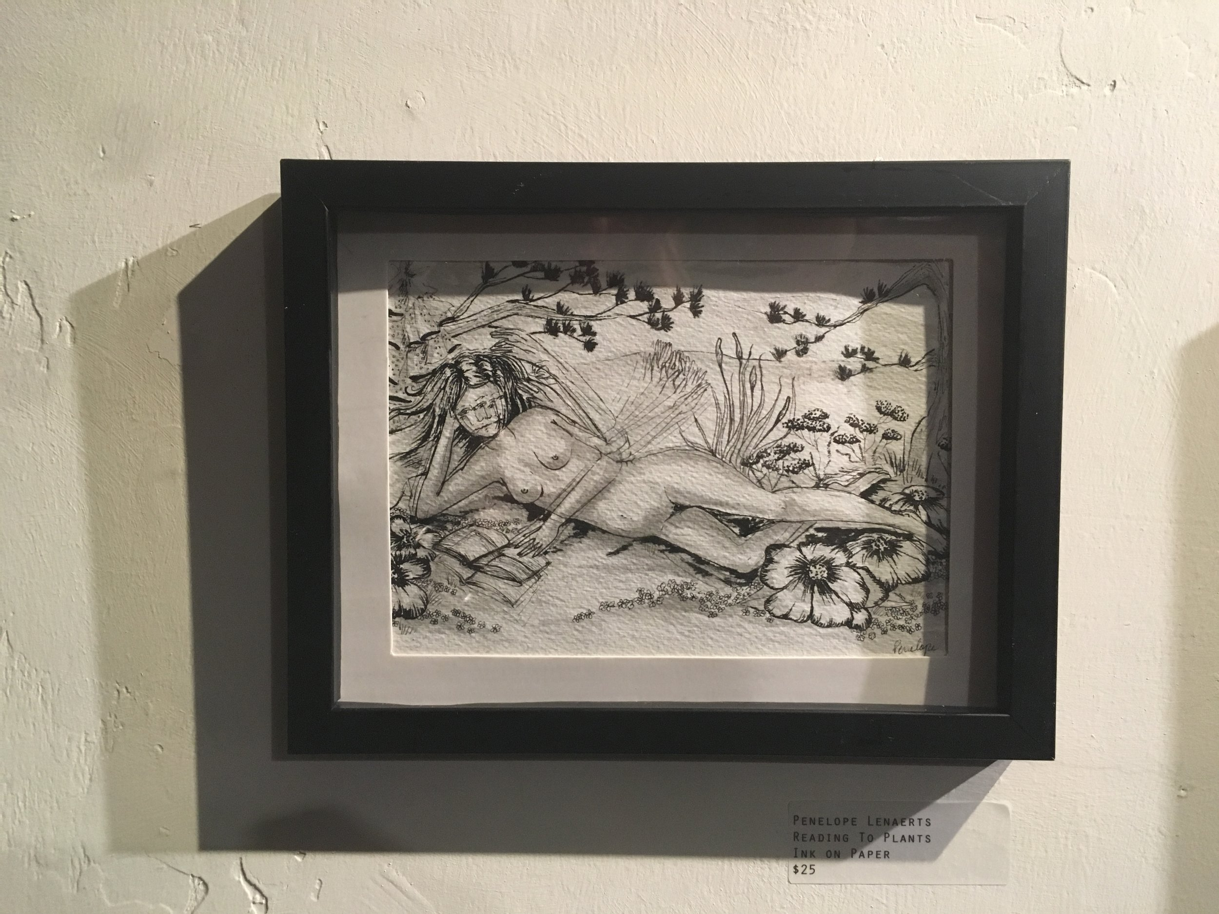 A small piece from the  WAL Public Market Gallery  Group Show