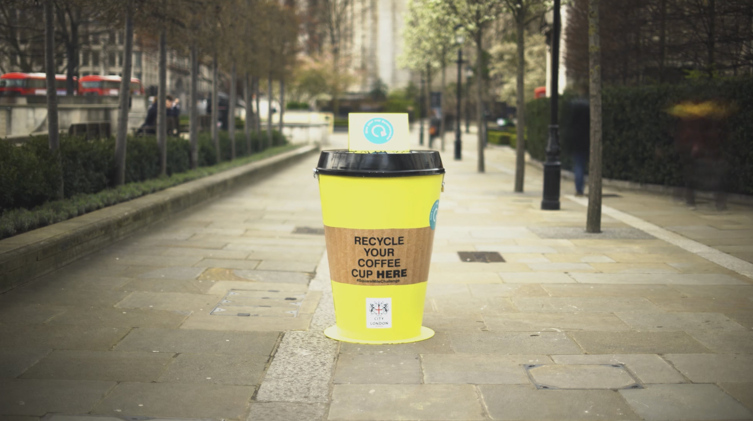 Hubbub | Coffee Cup Recycling Campaign | Launch Video