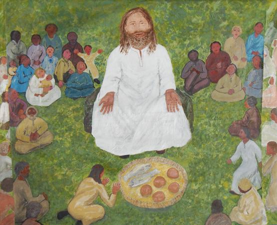 Mural of Jesus
