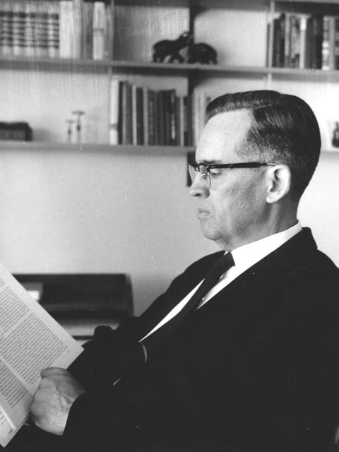 R. Pierce Beaver, 1973–1976  Photo courtesy of Mennonite Archives of Ontario