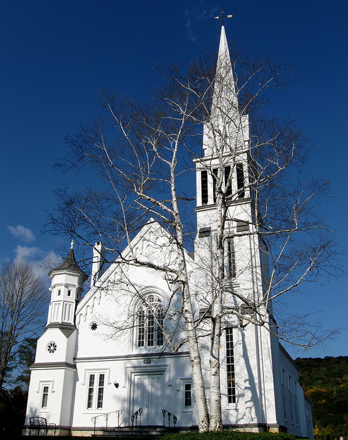 Rob and Heather's chruch in Kent.jpg