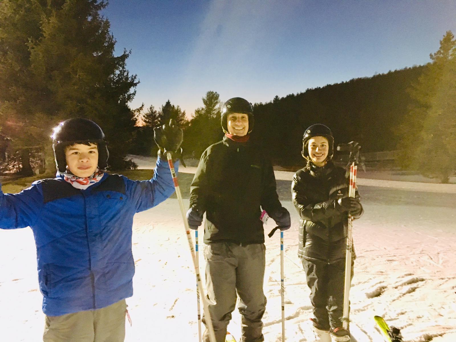 Sam, Jorge and Lisa Mohawk skiing.jpg