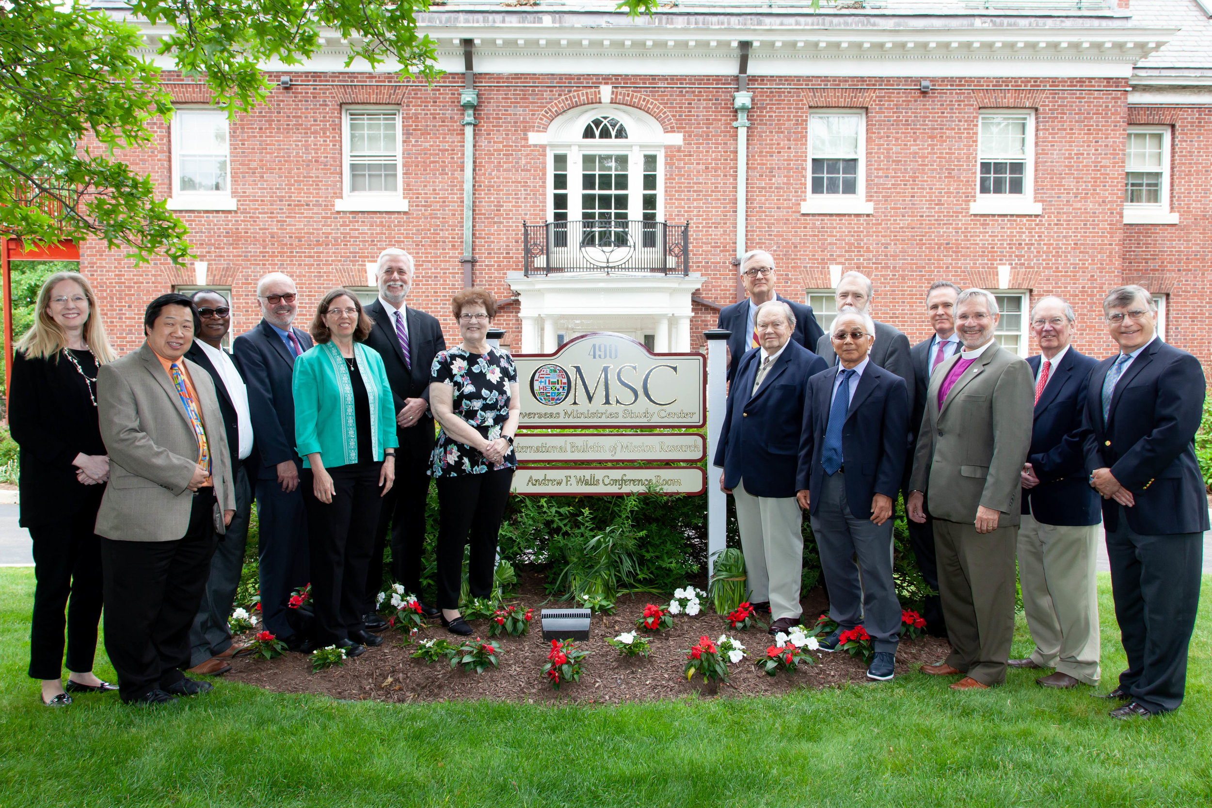 OMSC TRUSTEES CELEBRATE NEW PARTNERSHIP WITH PTS