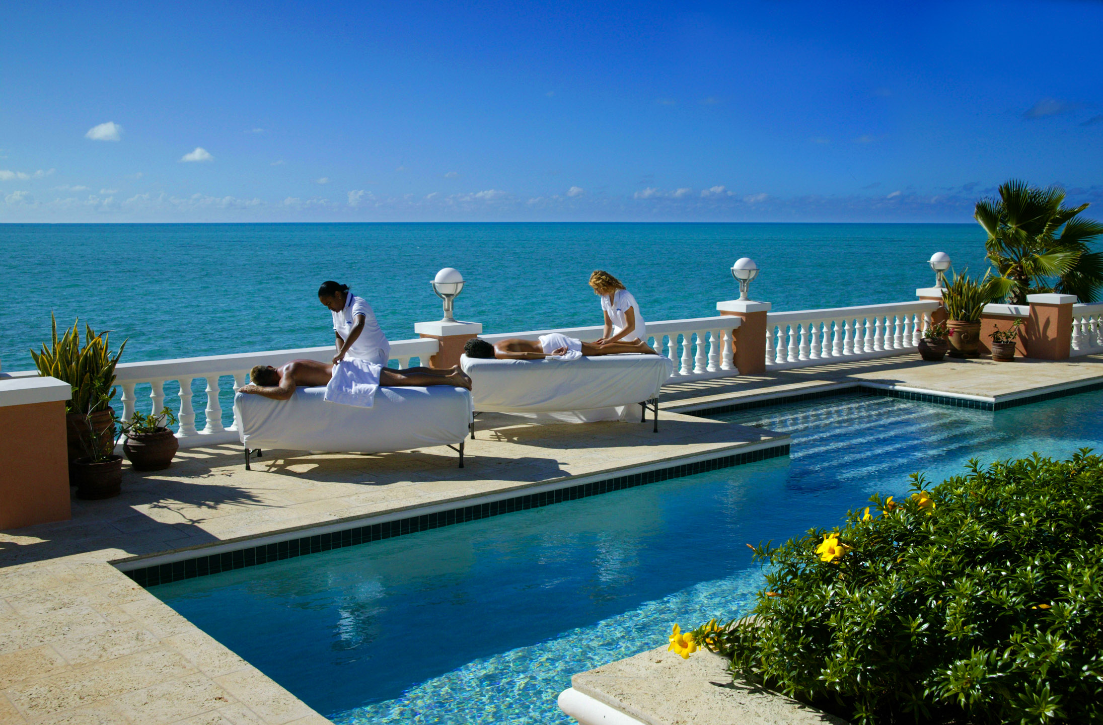 Couple's Massage, Turks & Caicos