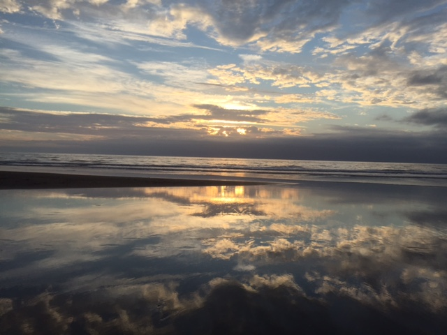 Nancy took this photo while camping at Steep Ravine Beach on New Year's Eve.