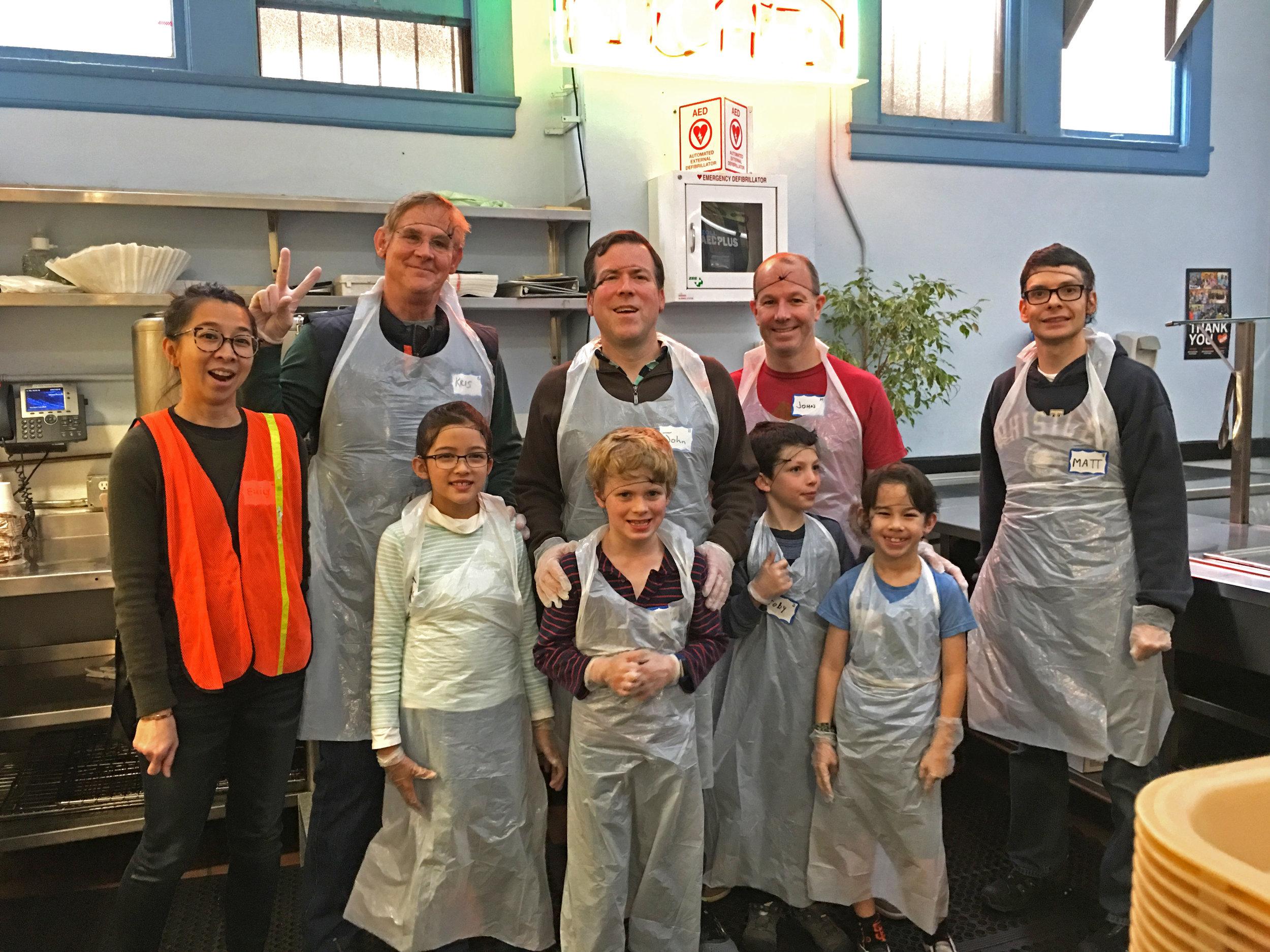 Volunteering at GLIDE in San Francisco