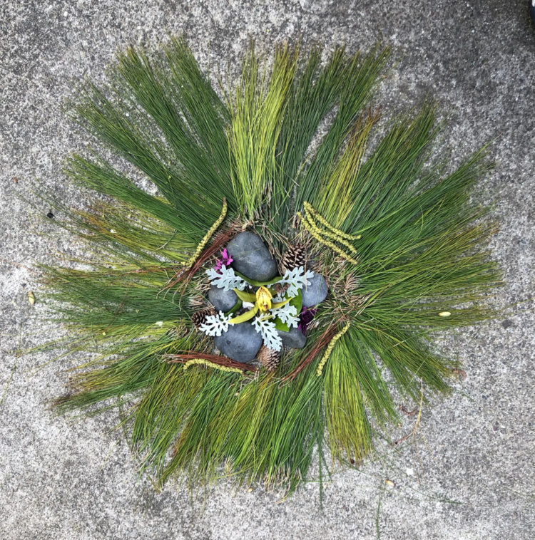 3rd Grade DLP Artwork Inspired by Andy Goldsworthy