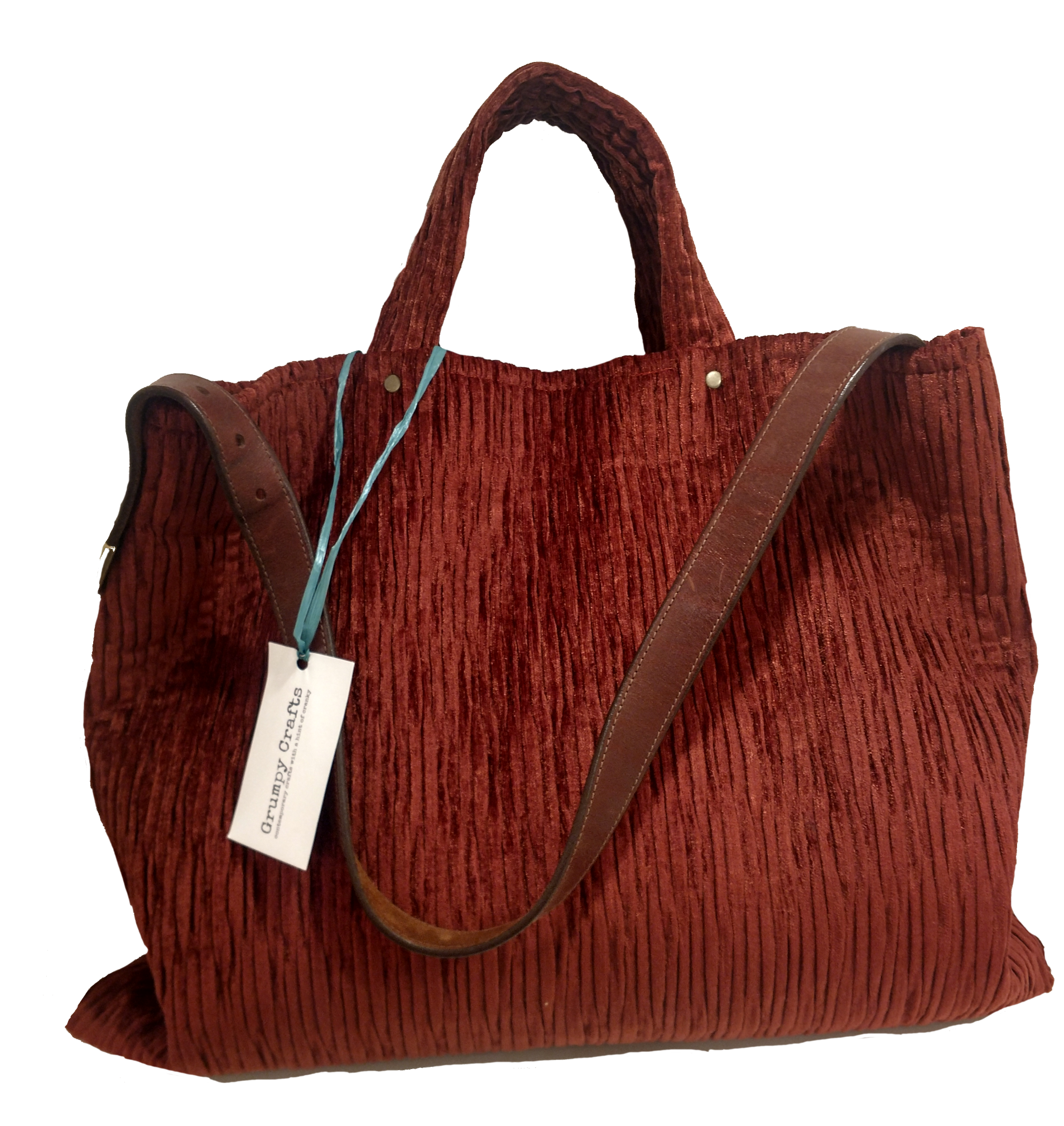 Ruby Spice Chenille Large Bag