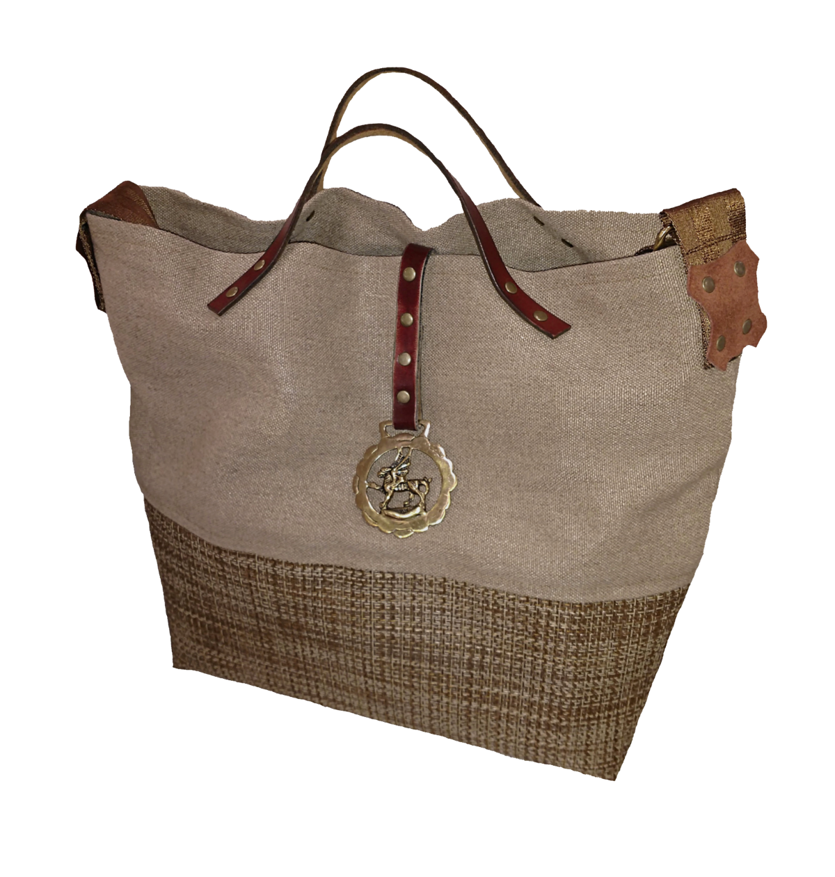 Grumpy Bags Luciano Horse Brass Large.png