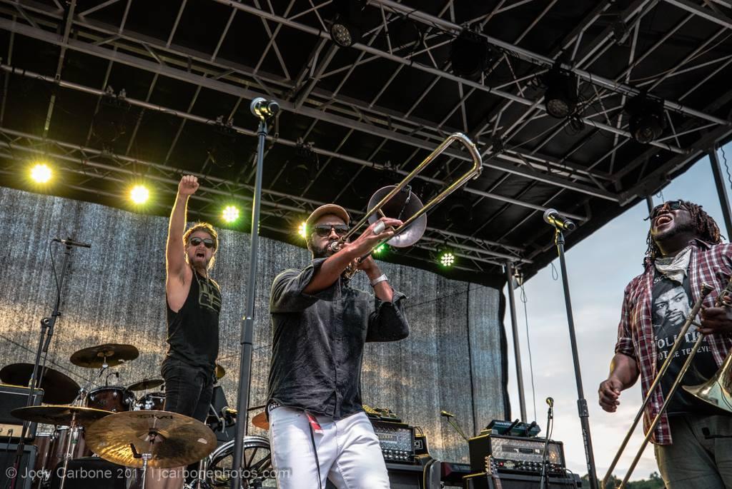 Reginald Chapman - NOBS! Brass Band/Foxygen