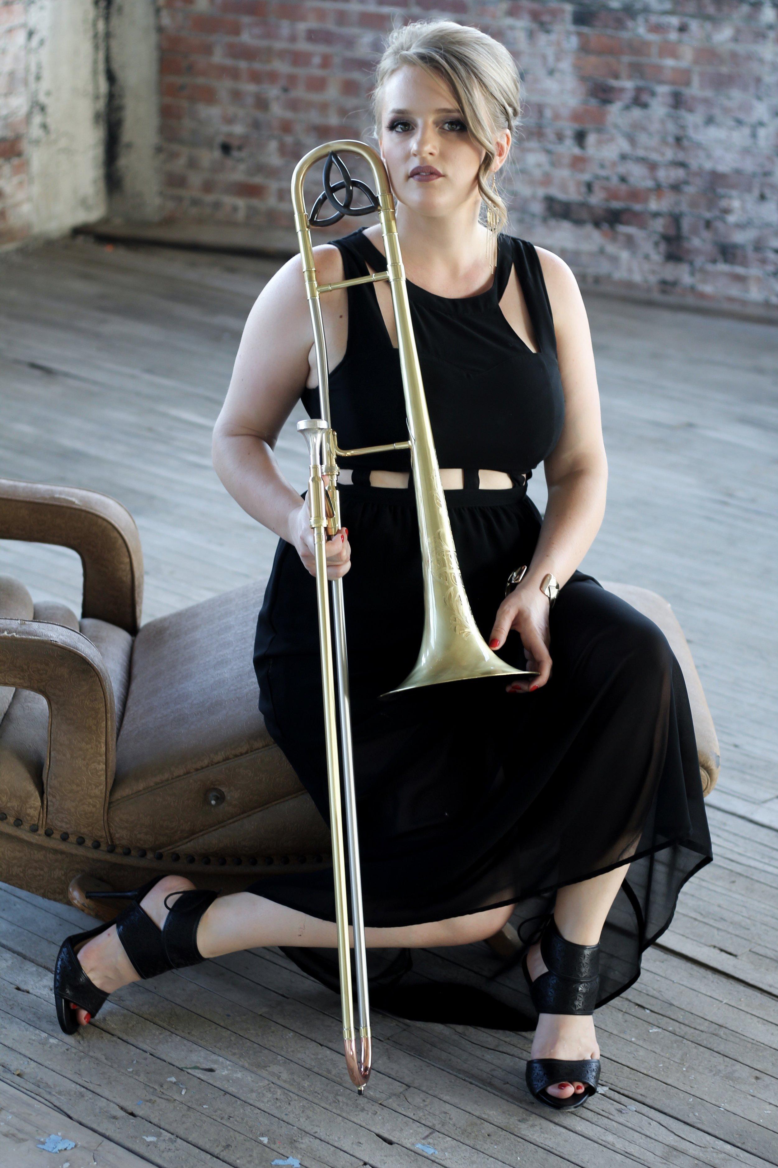 Melissa Gardiner - Bandleader; Trombone Instructor, Cornell University & Syracuse University
