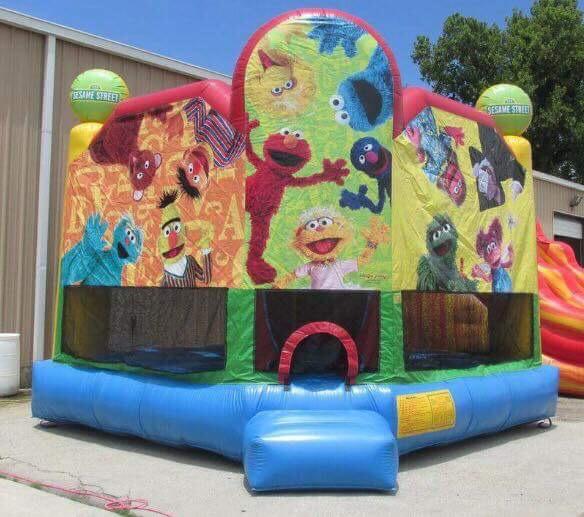 Sesame StreetBounce House15x15x13135.00 -