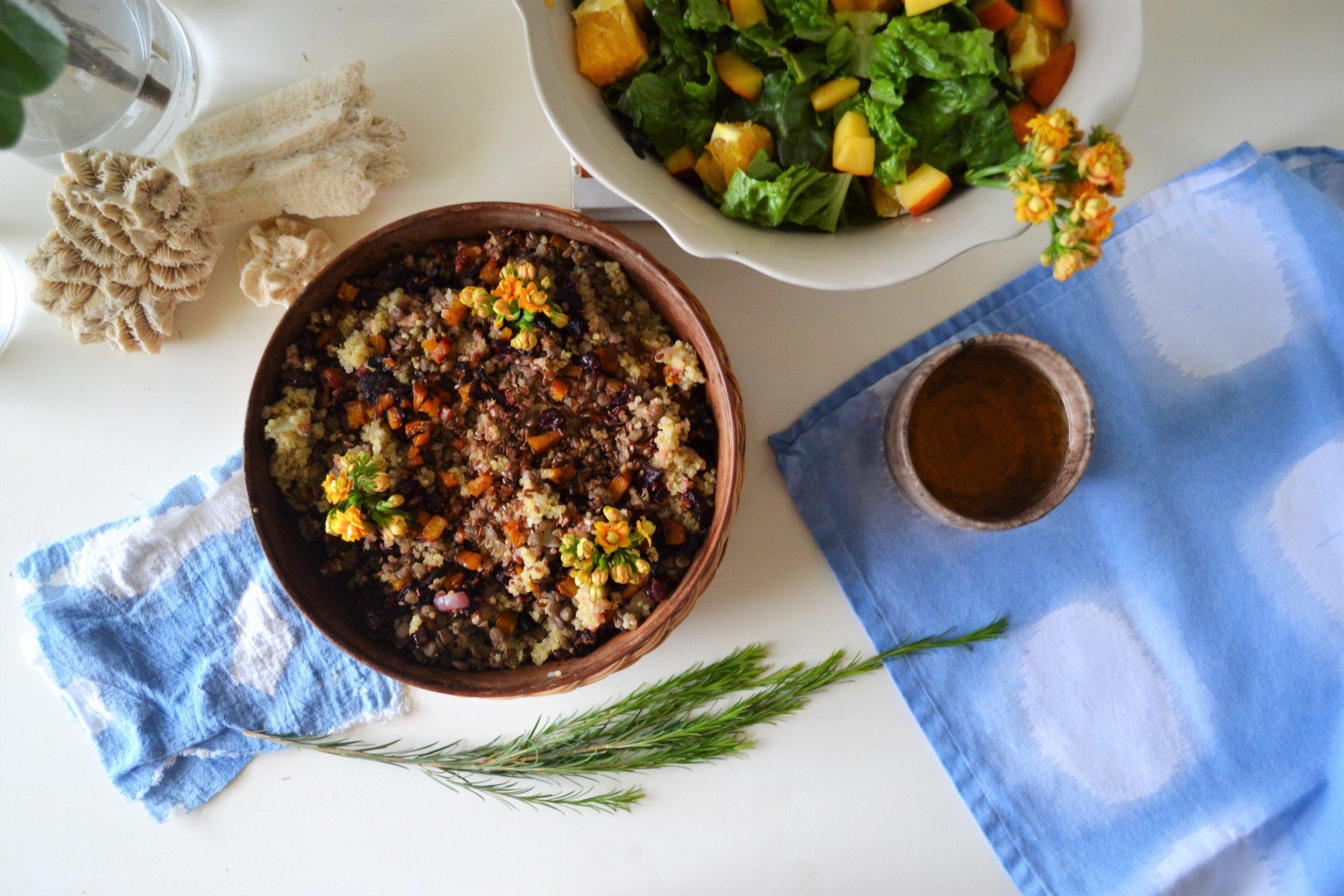 Beetroot Quinoa Salad -