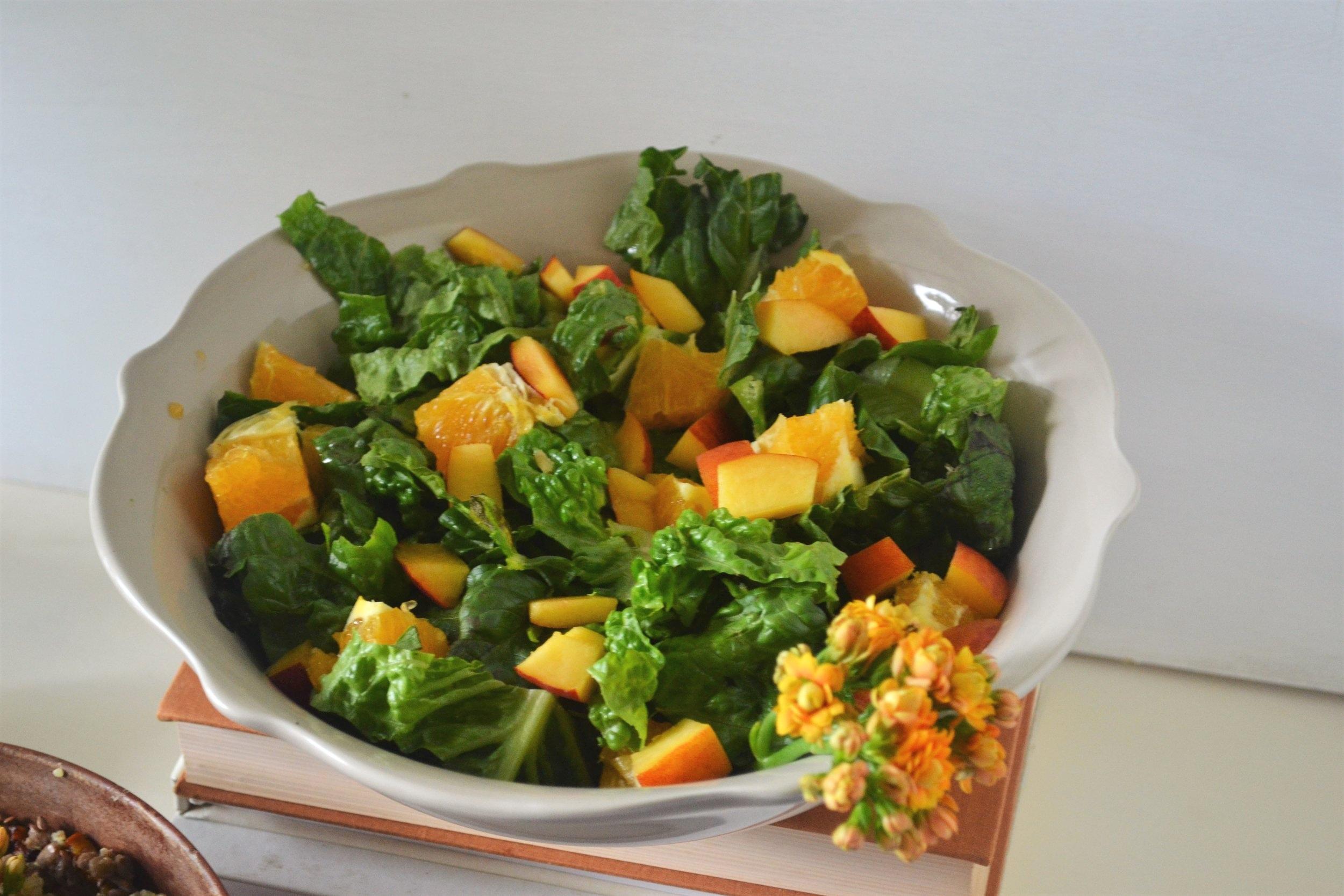 Nectarine Summer Salad -