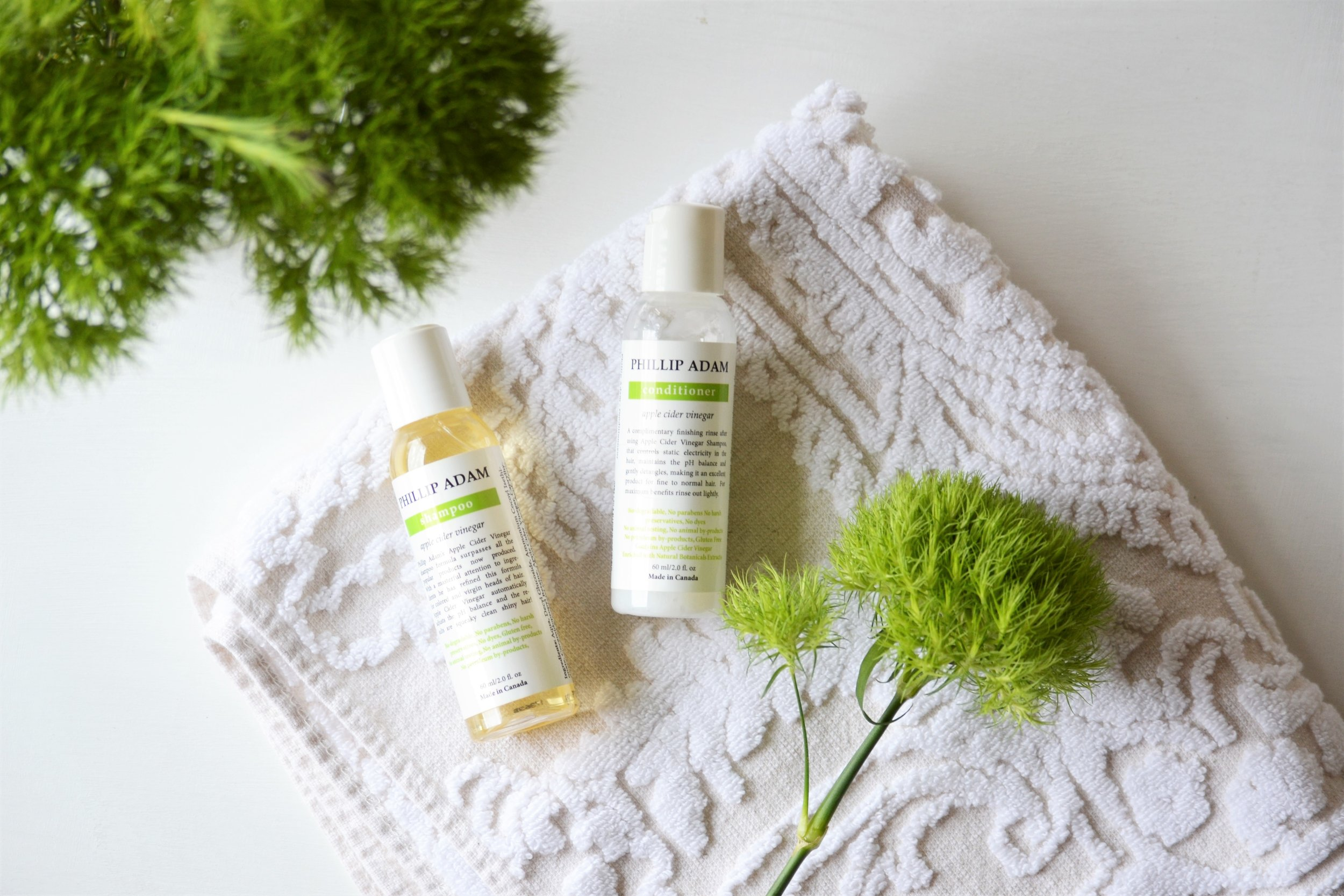 Going Natural: Phillip Adam's Shampoo & Conditioner -