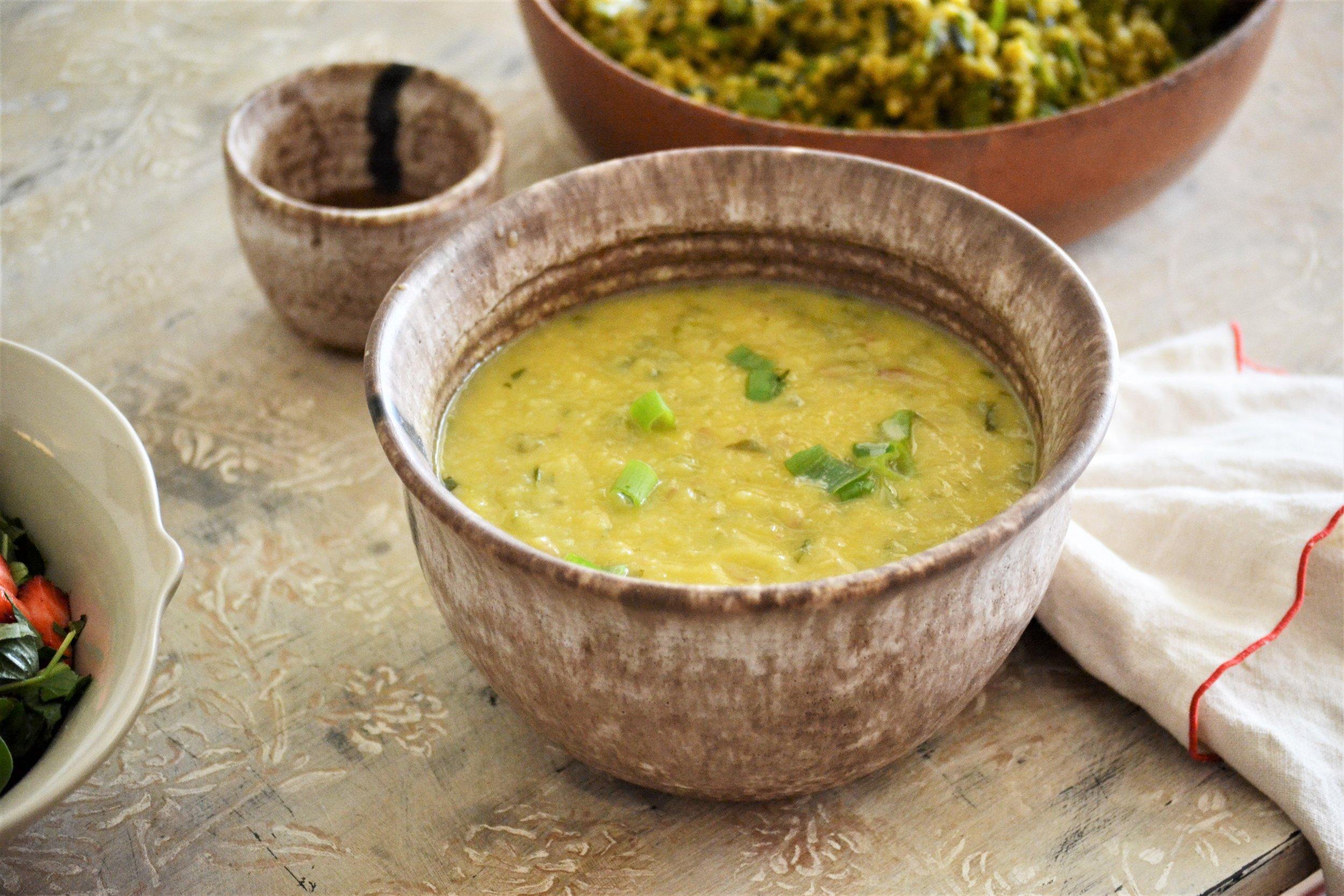 Watercress & Leek Soup -