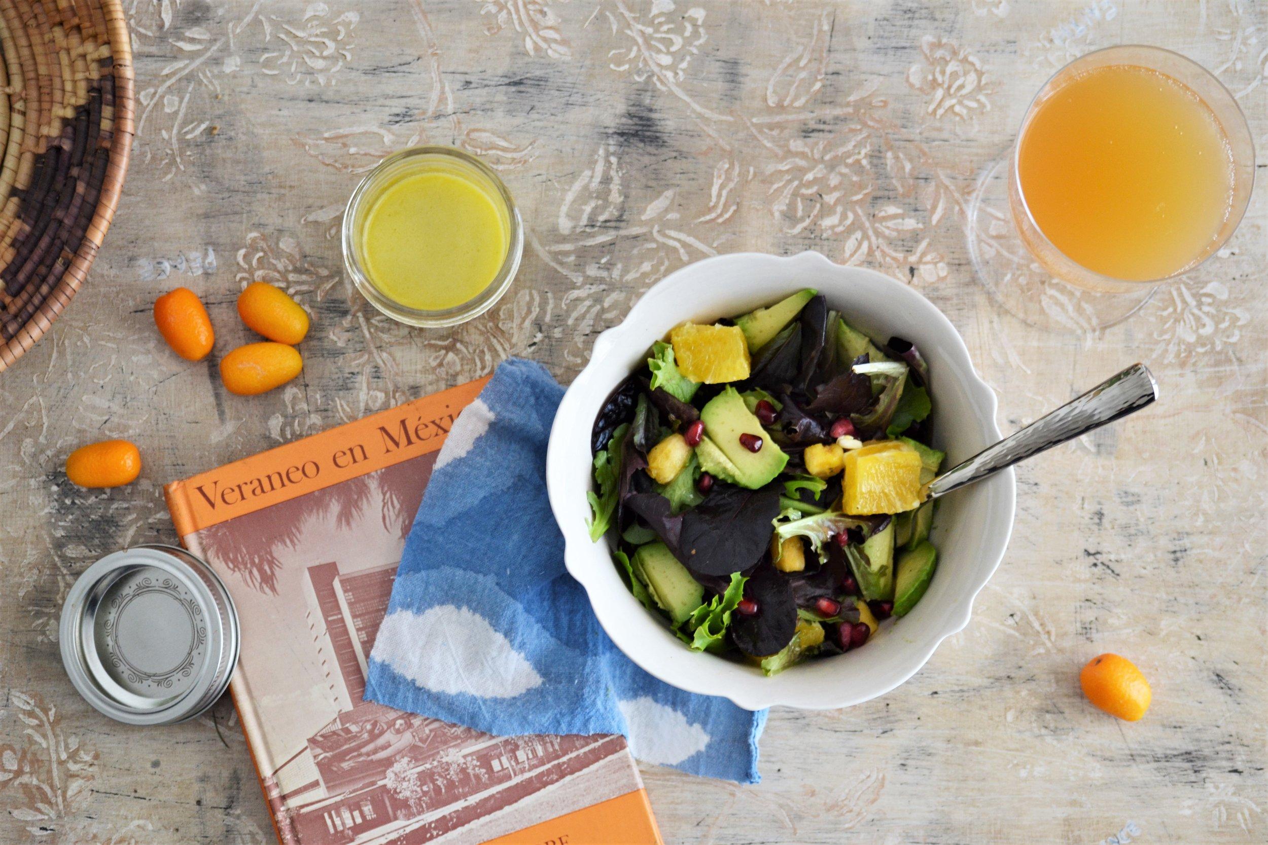 Winter Citrus Salad -