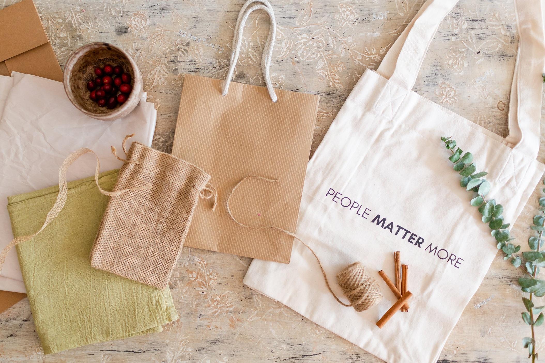 Sustainable Gift Wrap Alternatives -