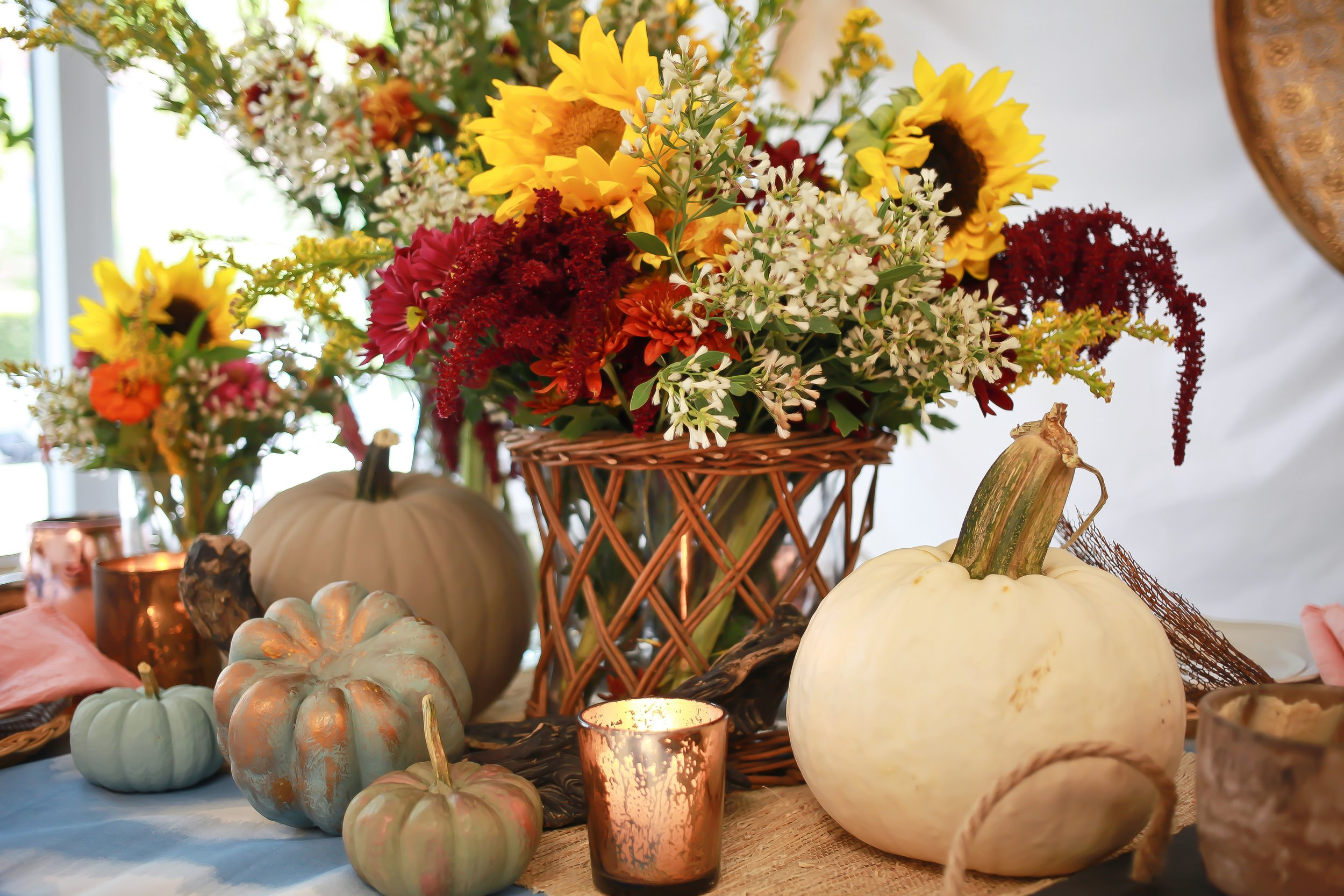 Setting the Table for an Autumn Gathering -