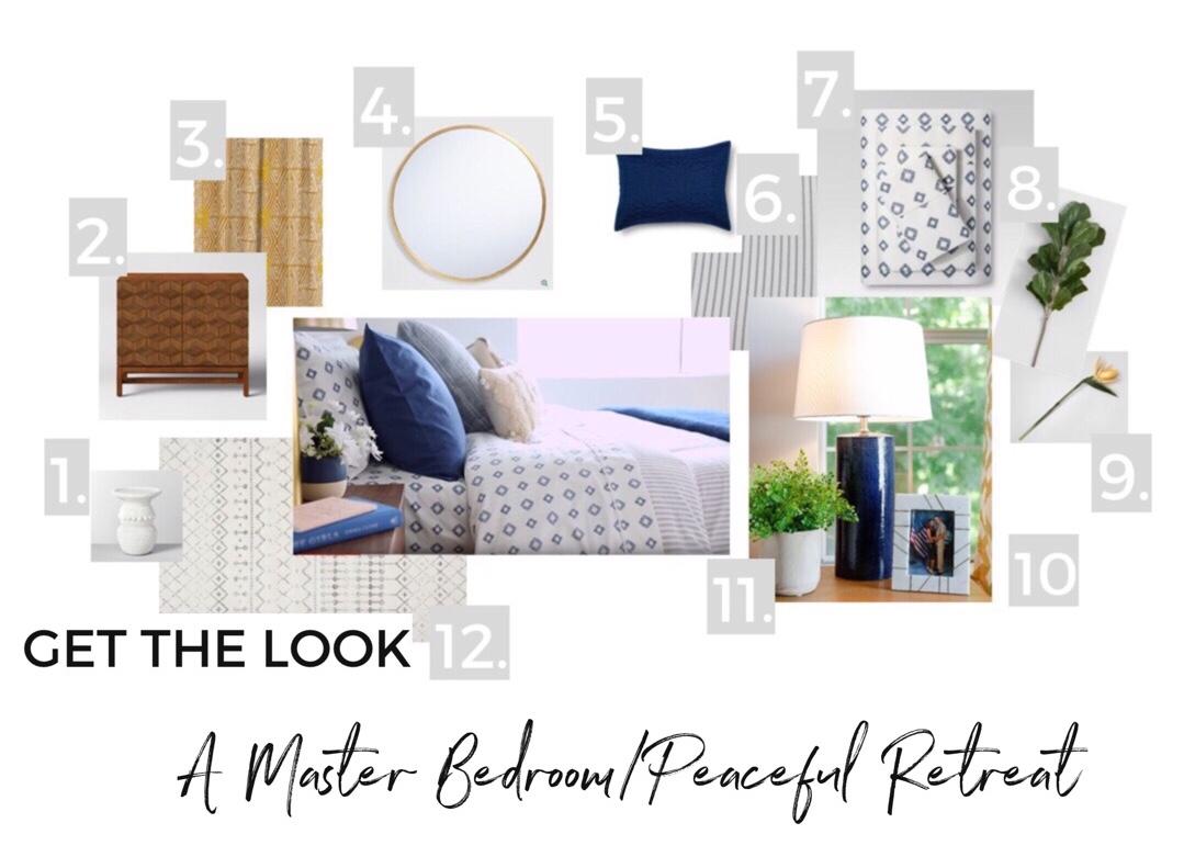 Get the Look - Master Bedroom