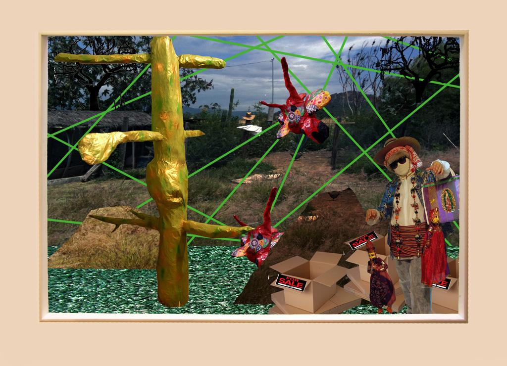 Vendor Personality: Oaxaca Attack,2009 Digital Collage