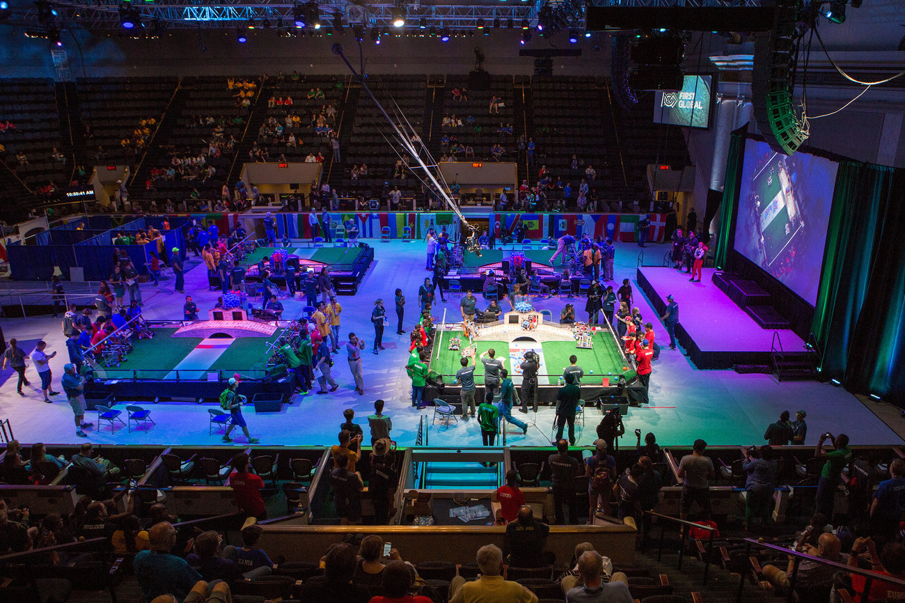 - What Really Happened At That Robotics Competition You've Heard So Much About. This week, the FIRST Global Challenge, a highly anticipated robotics competition for 15- to 18-year-olds from 157 countries, ended the way it began — with controversy.